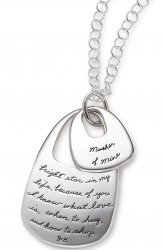 My Mother - Quote Necklace