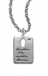 Another Blessing - Quote Mini Dog Tag