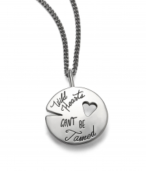 Wild Hearts Can't Be Tamed - Quote Necklace